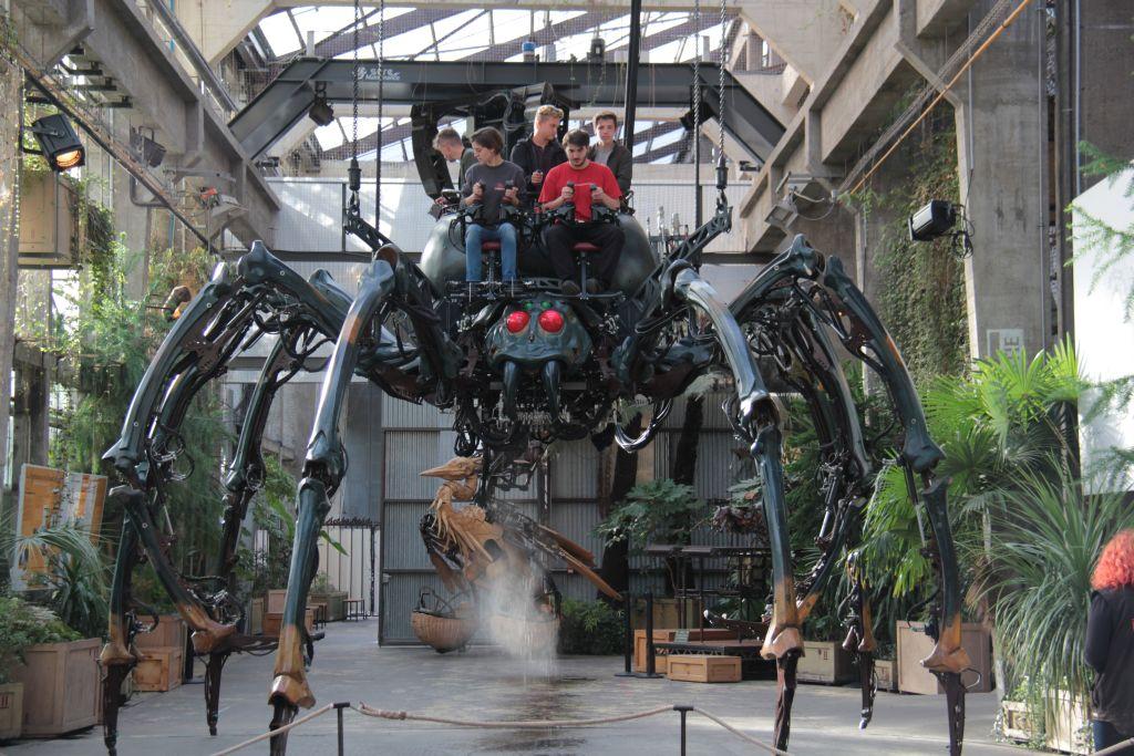 L'araignée géante