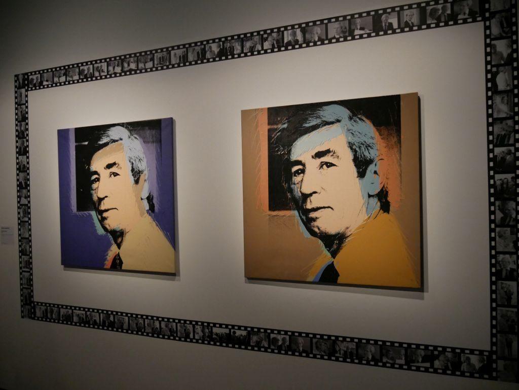 Hergé, par Andy Warhol