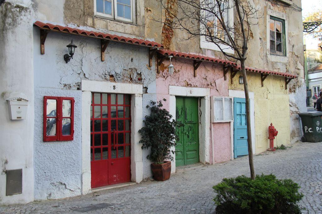 Lisbonne, quartier de l'Alfama