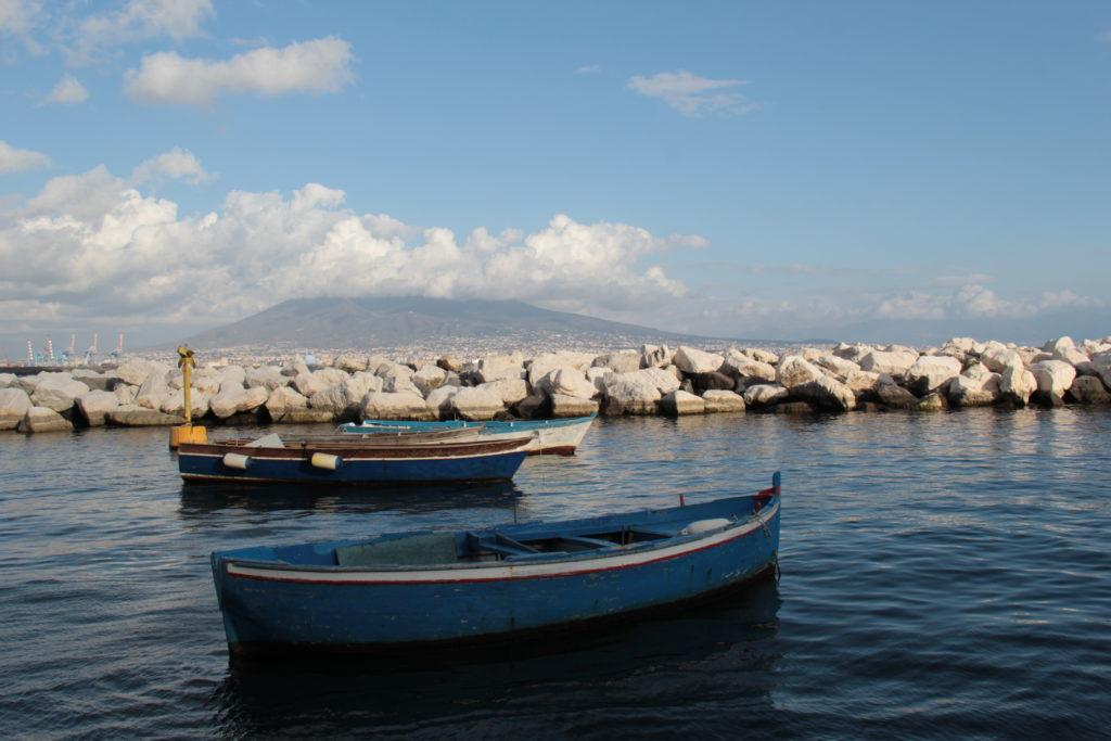 Le Vésuve depuis Naples