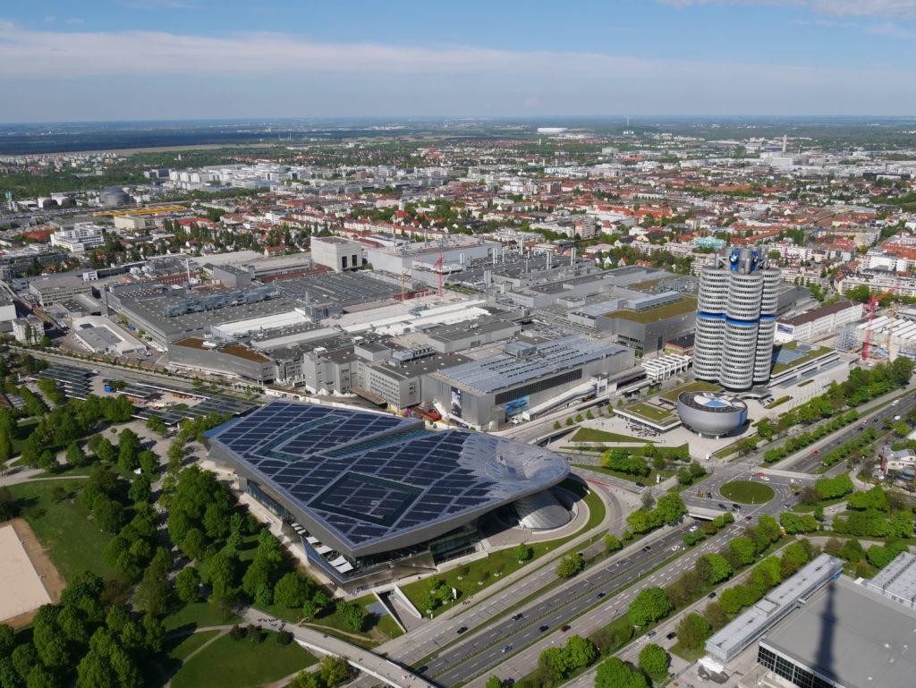 """Le site BMW : usine, siège social, musée & """"BMW Welt"""""""