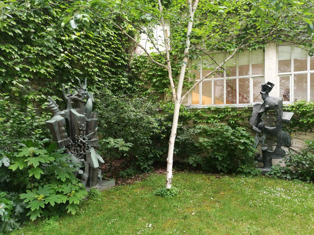 Le jardin, musée Zadkine