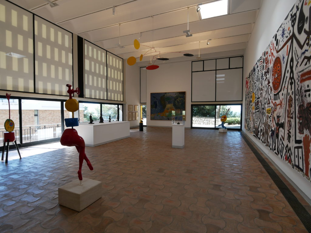 Salle d'exposition, fondation Maeght