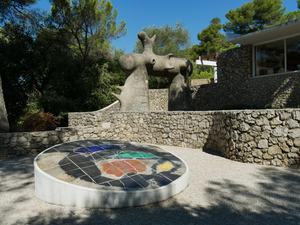 Le labyrinthe Miro, Fondation Maeght