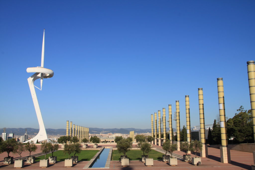Le site olympique, Barcelone