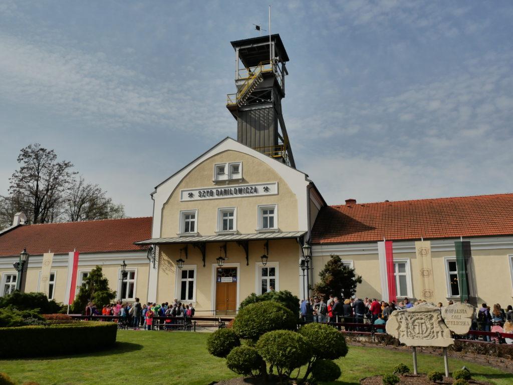L'entrée du puits Daniłowicz