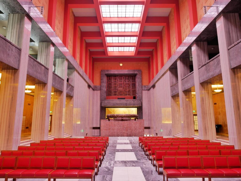 Le Hall de cérémonies