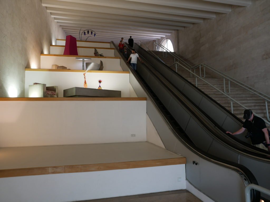 Galerie des escalators