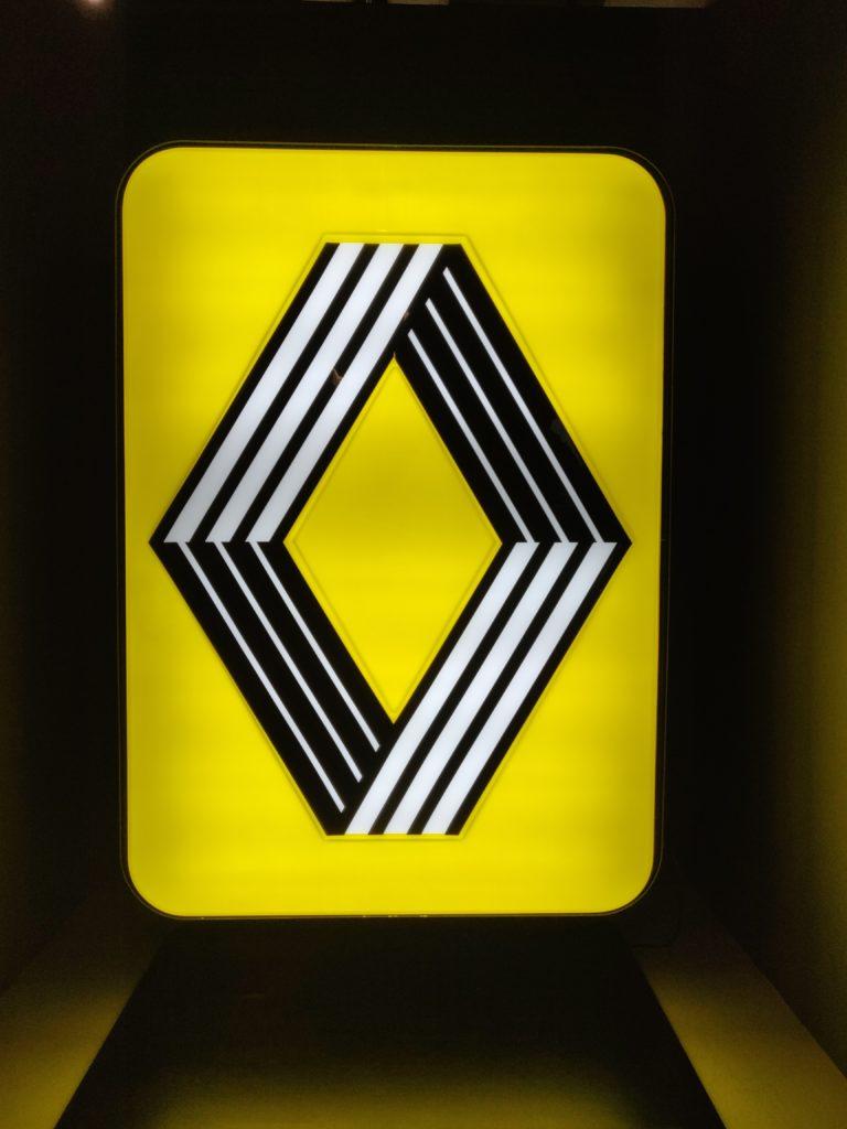 Et oui, le logo Renault c'est Vasarely